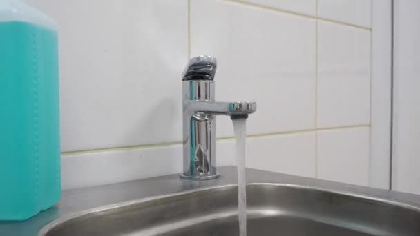 Water faucet and disinfectant integrity