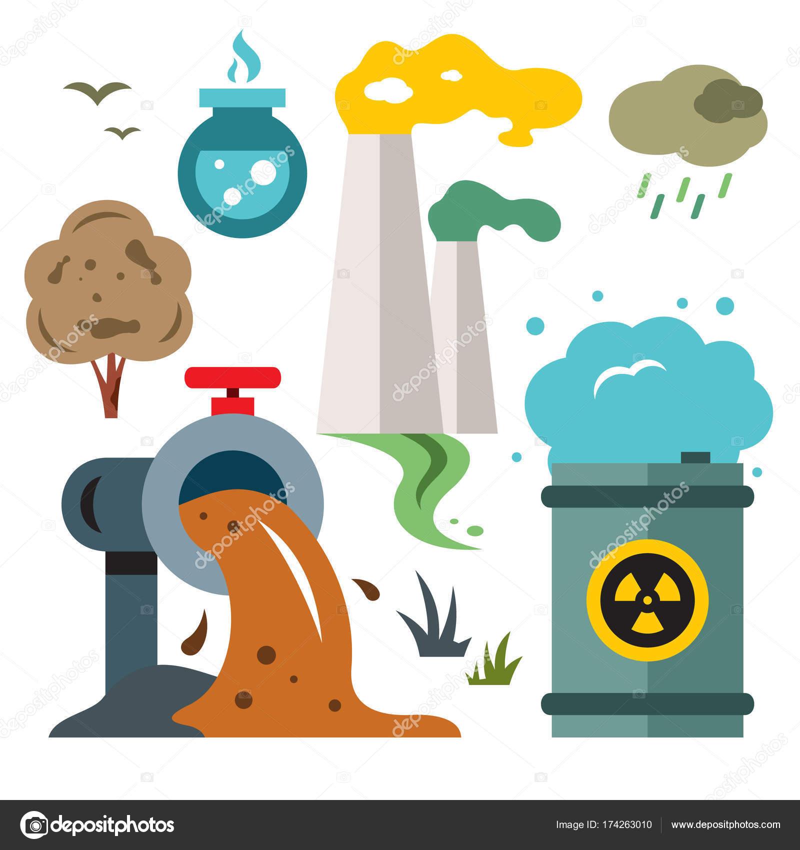 Dibujos Contaminacion Contaminación Del Ambiente Ecología