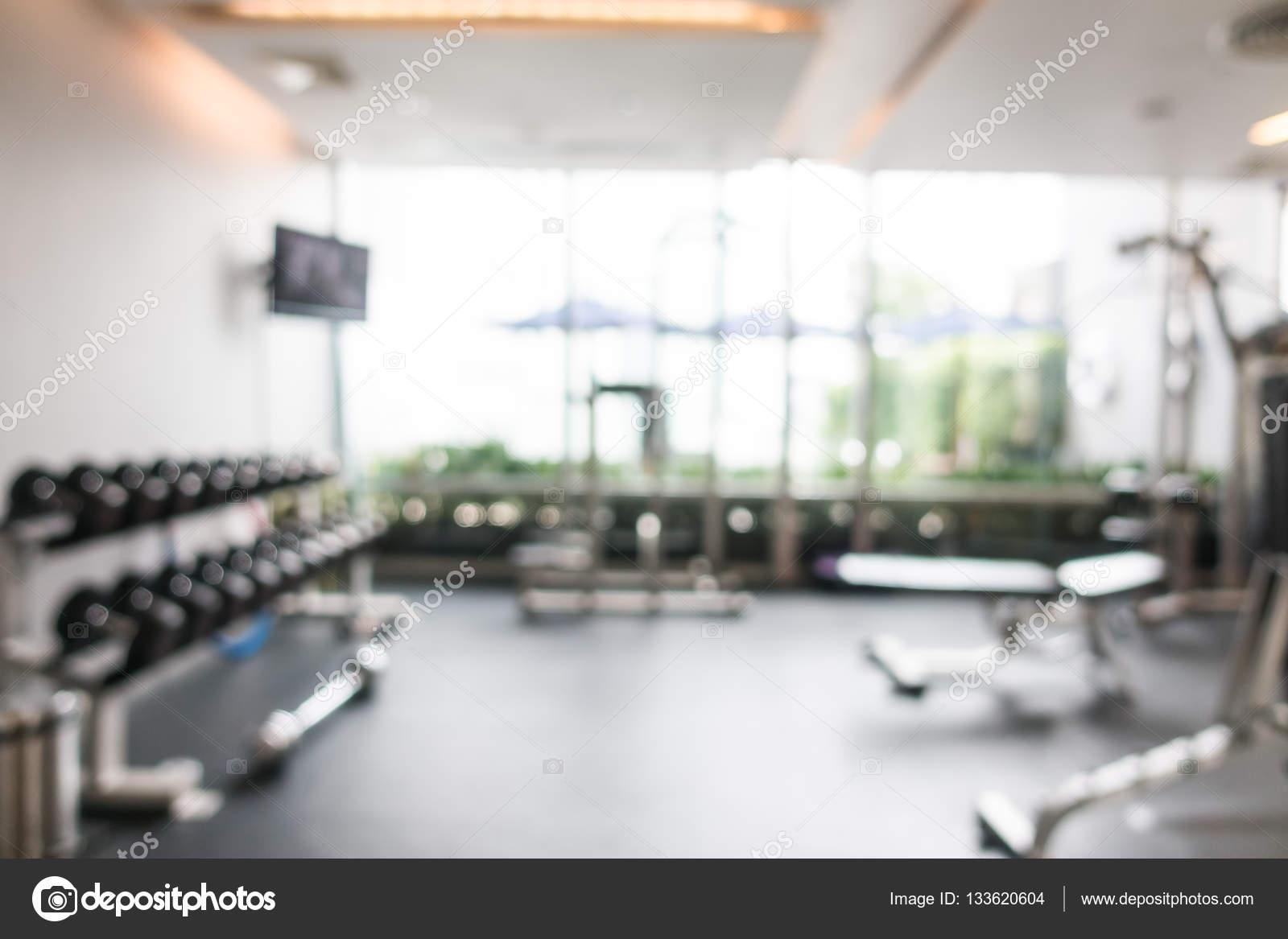 Abstract blur gym and fitness room u2014 stock photo © mrsiraphol #133620604
