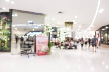 shopping mall and retails store interior
