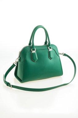luxury green handbag