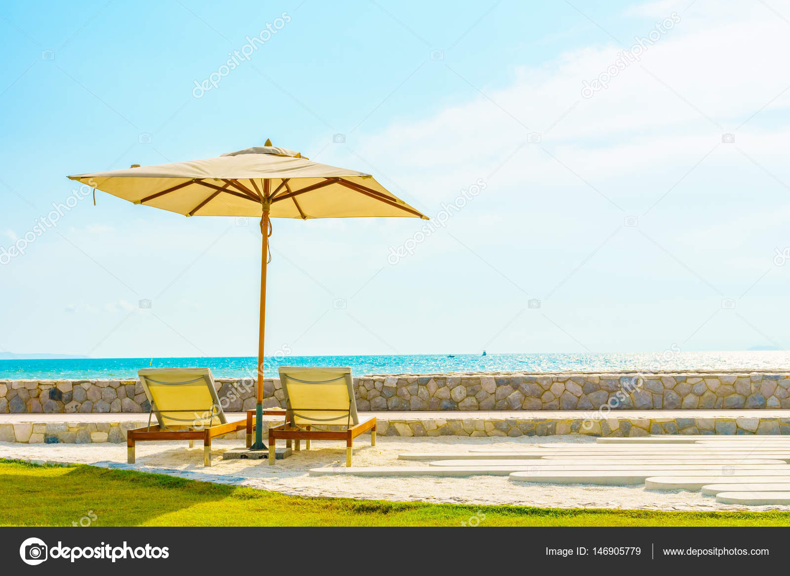 beach chair umbrella attached design simple best house with