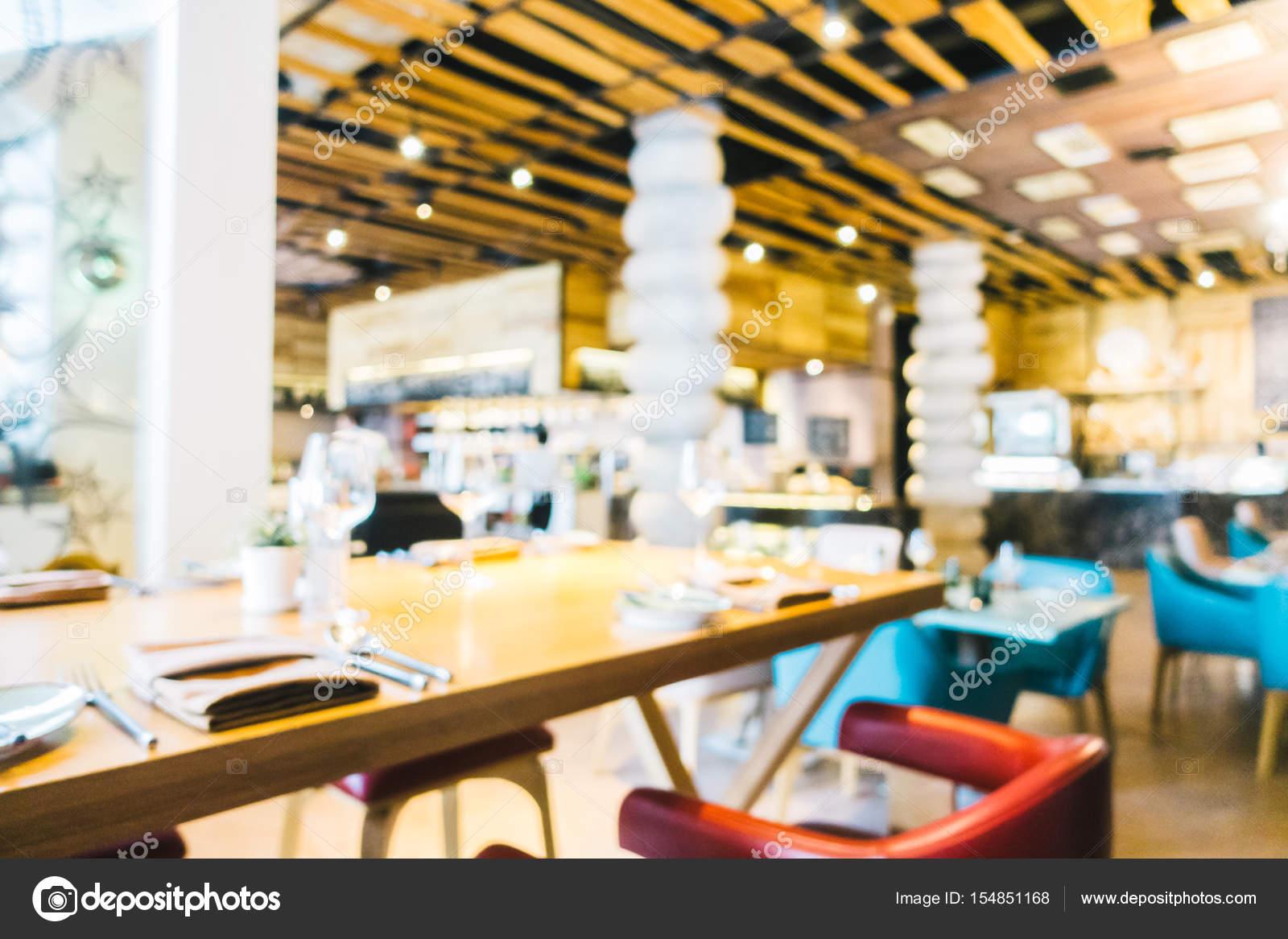 Resumen restaurante de Blur — Foto de stock © mrsiraphol #154851168