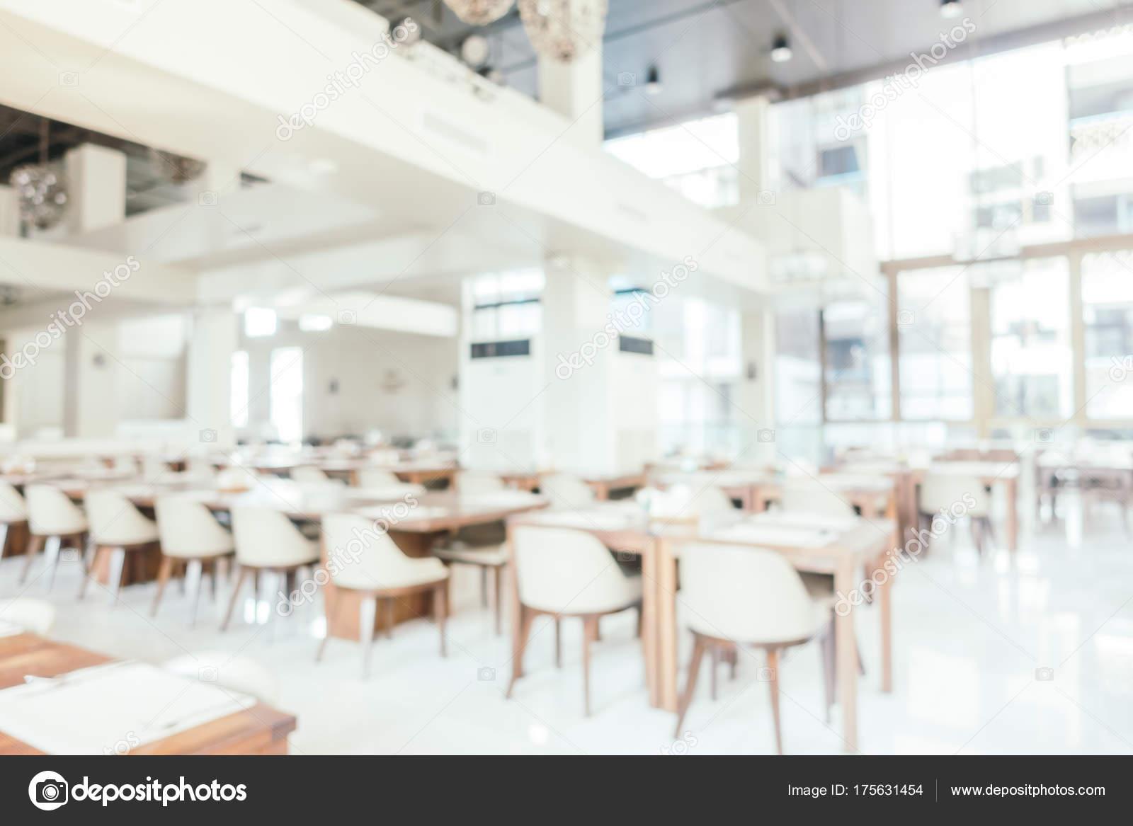 Abstract vervagen restaurant café interieur — Stockfoto © mrsiraphol ...