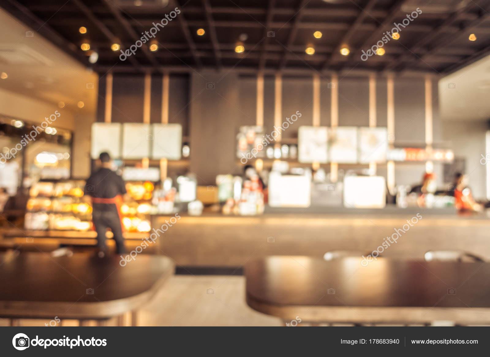 Abstract Blur Coffee Shop Cafe Restaurant Interior Background Vintage Filter Stock Photo C Mrsiraphol 178683940