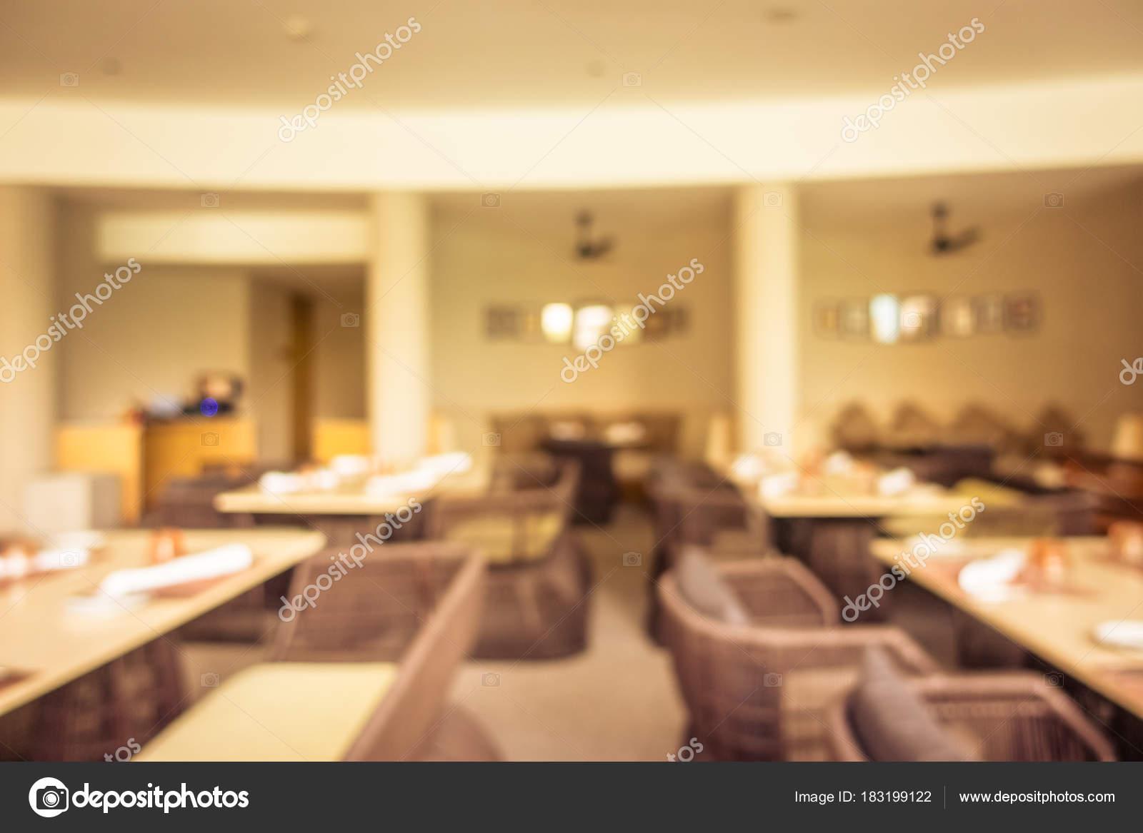 Resumen blur restaurante y cafetería cafetería interior — Foto de ...