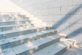 Fotografie betonová schodiště