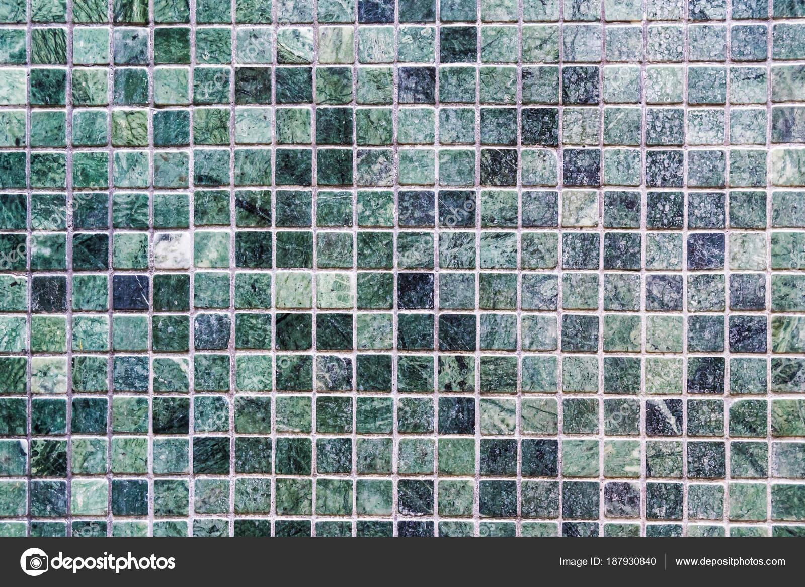 Mattonelle verdi superficie e texture delle pareti u2014 foto stock