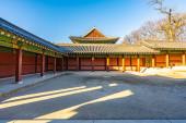 Photo Beautiful architecture building Changdeokgung palace in Seoul ci