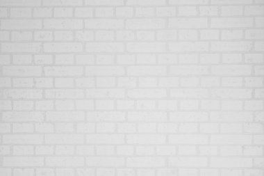 White brick wall surface and texture
