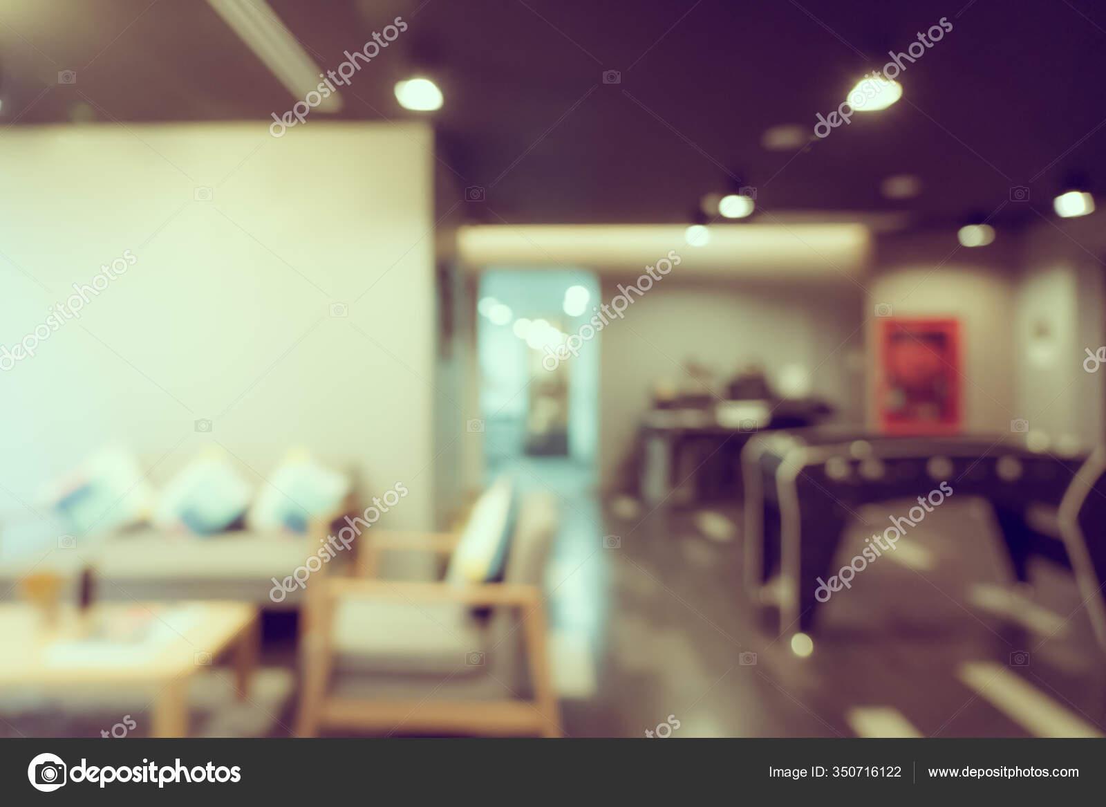 Abstract Blur Defocus Coffee Shop Cafe Restaurant Interior Background Stock Photo C Mrsiraphol 350716122