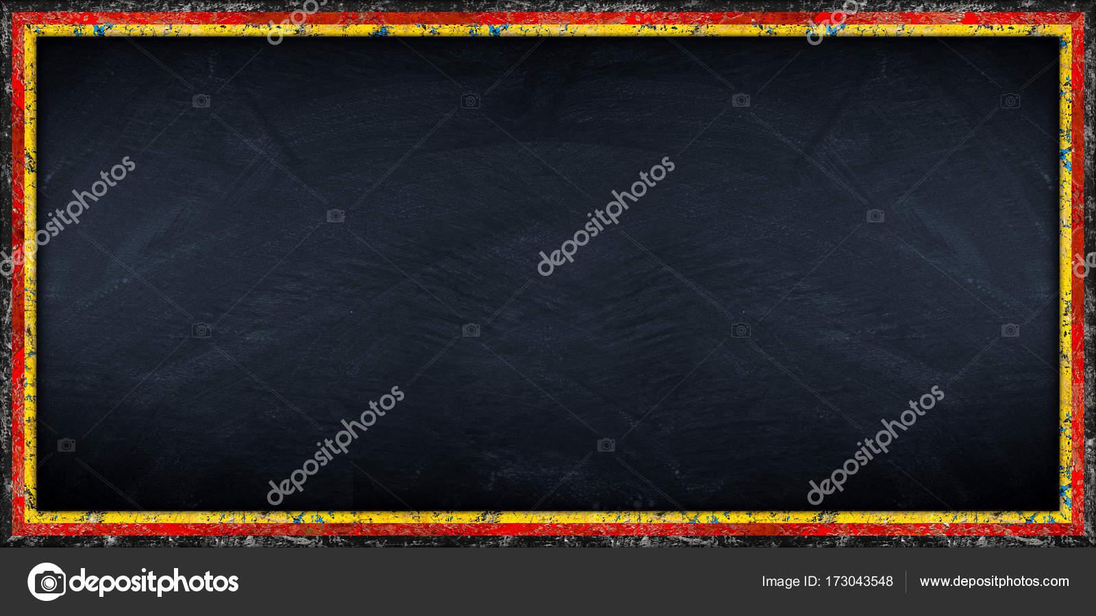 große Panorama-Tafel mit deutscher Flagge Rahmen — Stockfoto ...