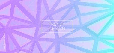 Trendy Triangles Wallpaper. Creative Polygon