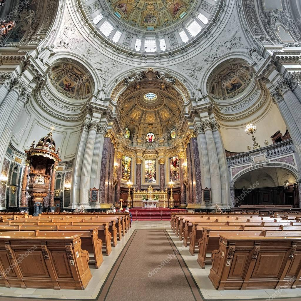 interior of berlin cathedral germany stock editorial. Black Bedroom Furniture Sets. Home Design Ideas