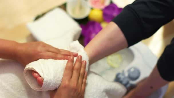 Massaggio del piede in Studio tailandese