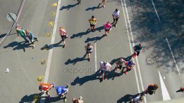 Prague Czech Republic April 17 2017: Sportisimo Half Marathon Race