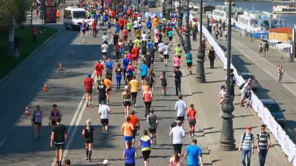 Prague Czech Republic April 17 2017: Sportisimo Half Marathon Race