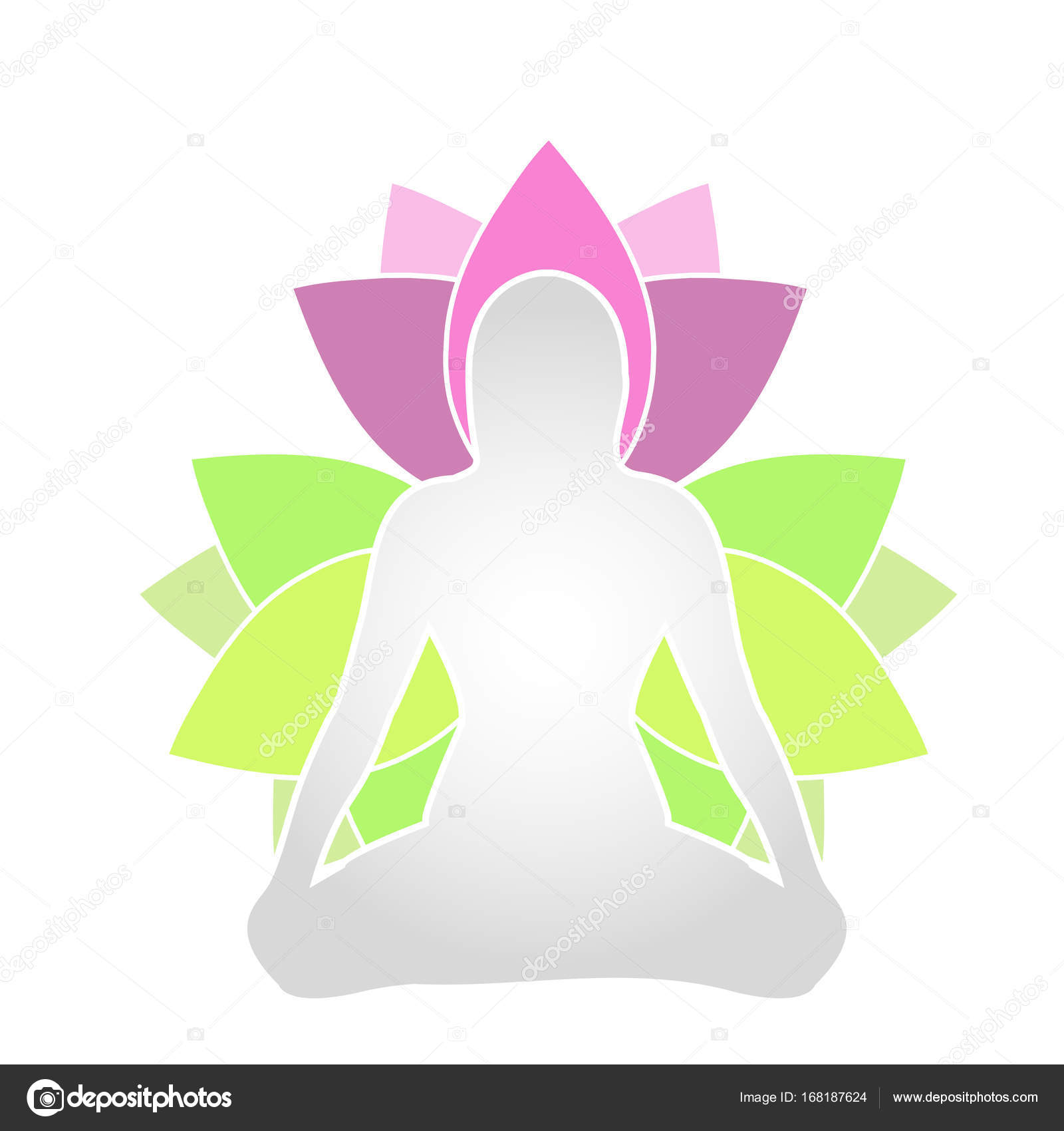 Lotus flower meaning in yoga flowers healthy lotus flower symbol yoga stock vector sanayamirza 168187624 izmirmasajfo