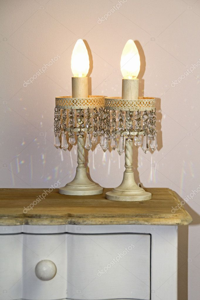 Shabby Chic Abat Jours Stock Photo C Faradia01 127533398