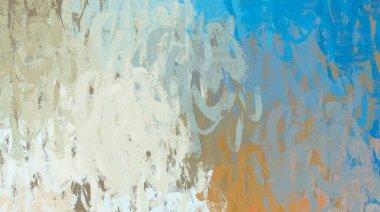 """Картина, постер, плакат, фотообои """"Абстрактное фоновое искусство. 2-я иллюстрация. Экспрессивная живопись маслом. Брусштрихи на трости. Современное искусство. Многоцветная подложка. Современное искусство. Выражение. Художественная цифровая палитра."""", артикул 345900954"""