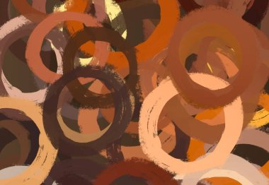 Abstract background art. 2d illustration. Expressive oil painting. Brushstrokes on canvas. Modern art. Multi color backdrop. Contemporary art. Expression. Artistic digital palette.