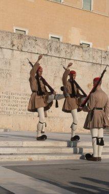 Yunanistan 'da yürüyüş askerleri