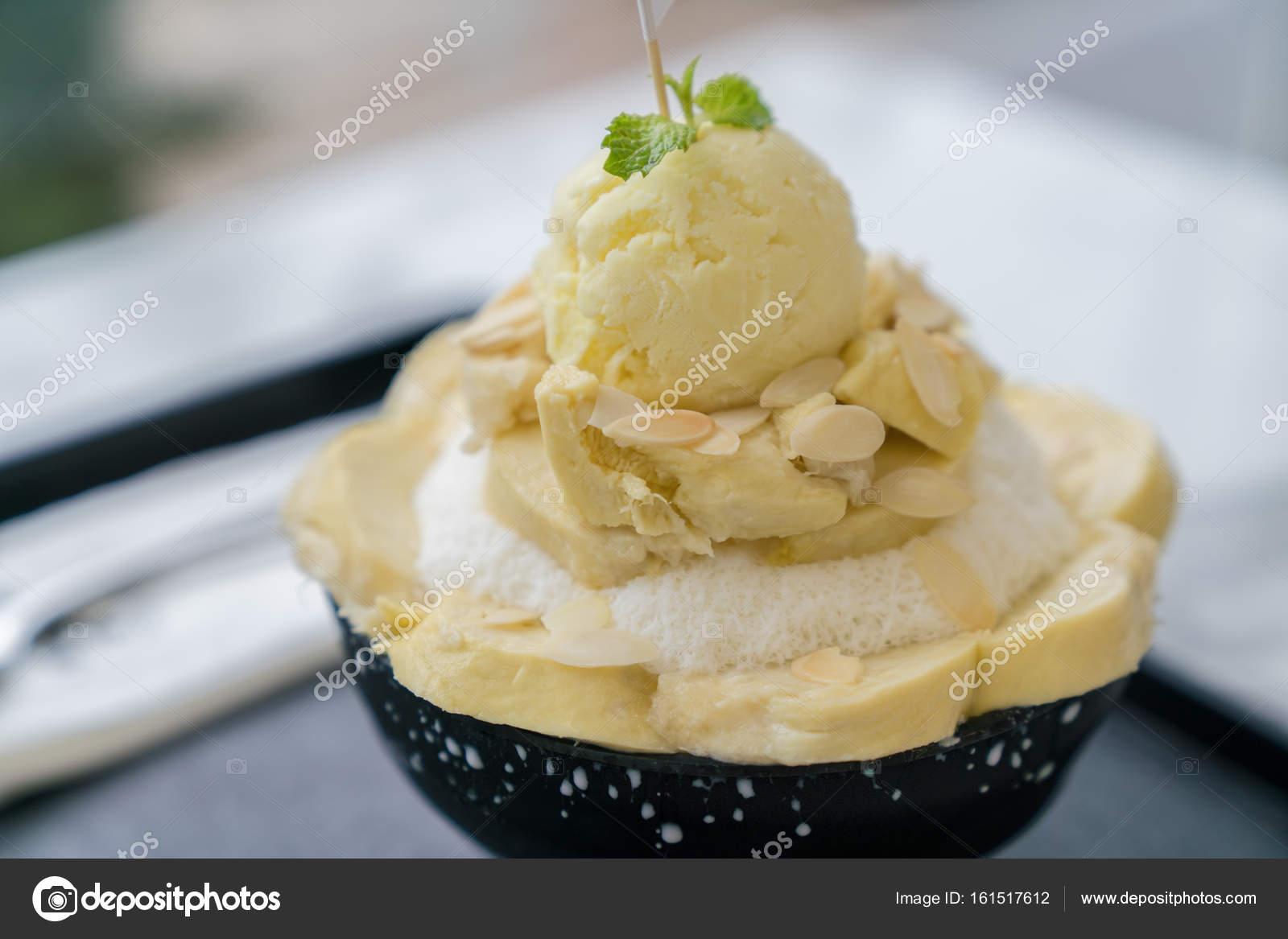 Bingsoo Or Bingsu Korea Dessert Stockfoto C Khajornkiat 161517612