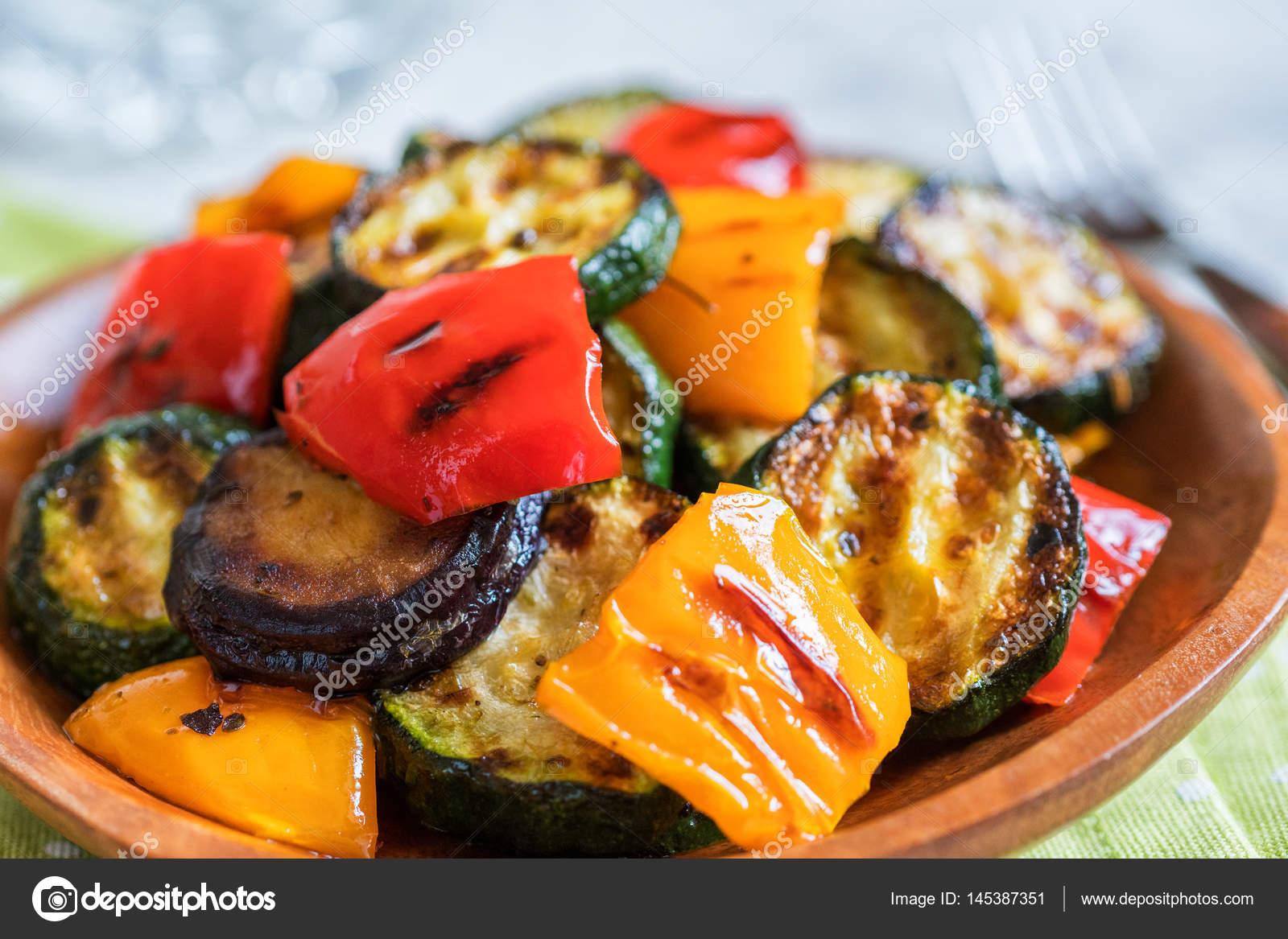 Insalata di peperoni alla griglia