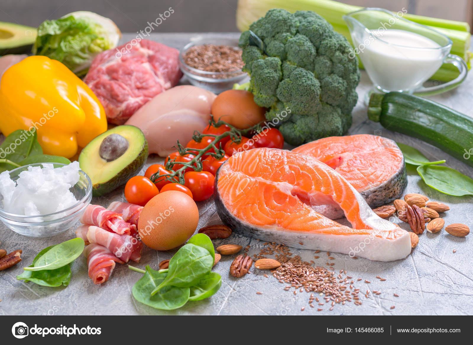 Saine alimentation faible en glucides c to c tog ne repas r gime alimentaire photographie - Aliments faibles en glucides ...
