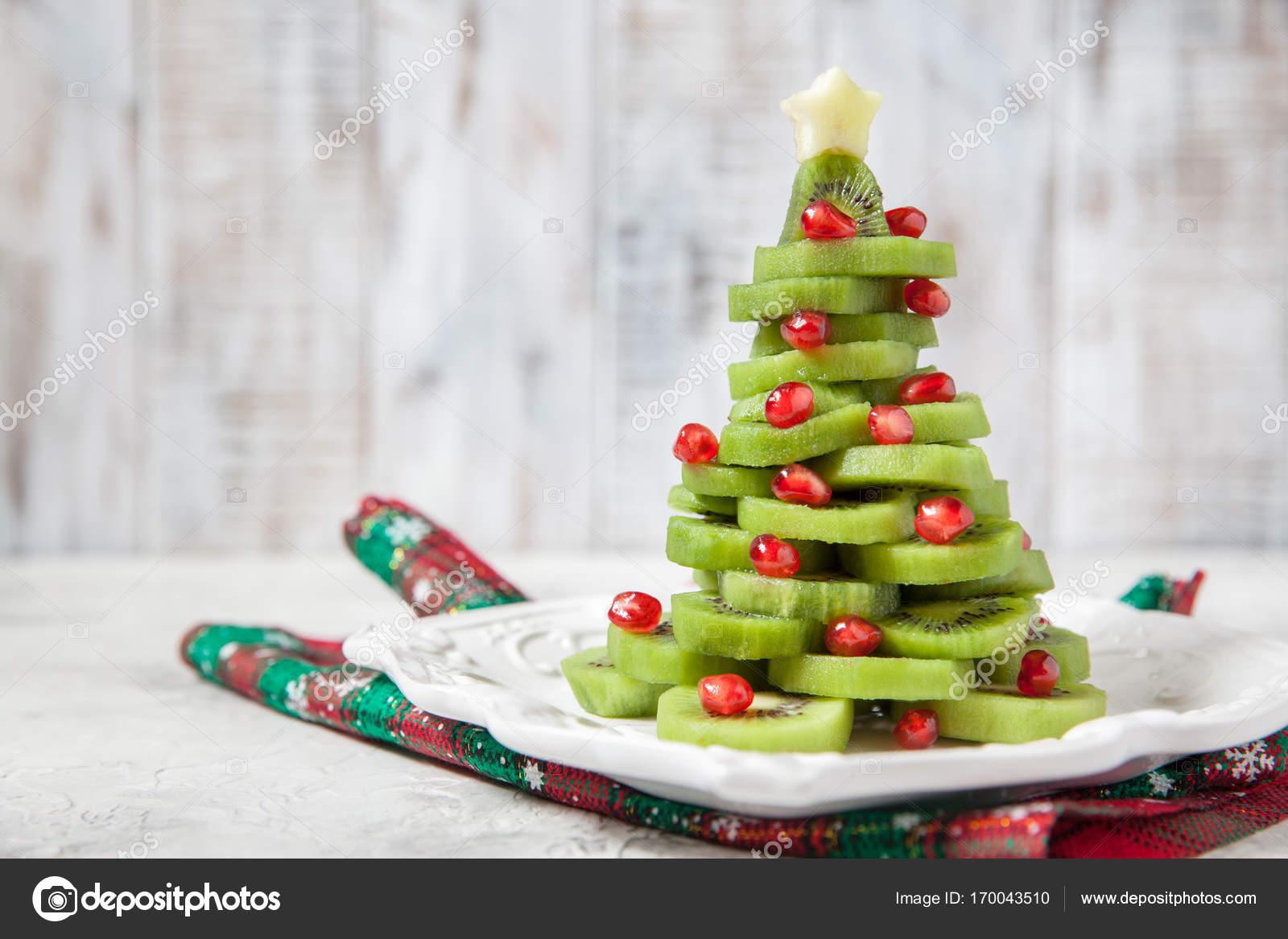 Healthy dessert idea for kids party - funny edible kiwi pomegranate ...