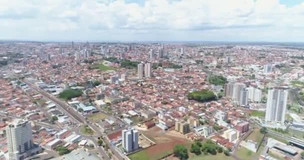 Aerial view of daytime city of Rio de Janeiro, Brazil.