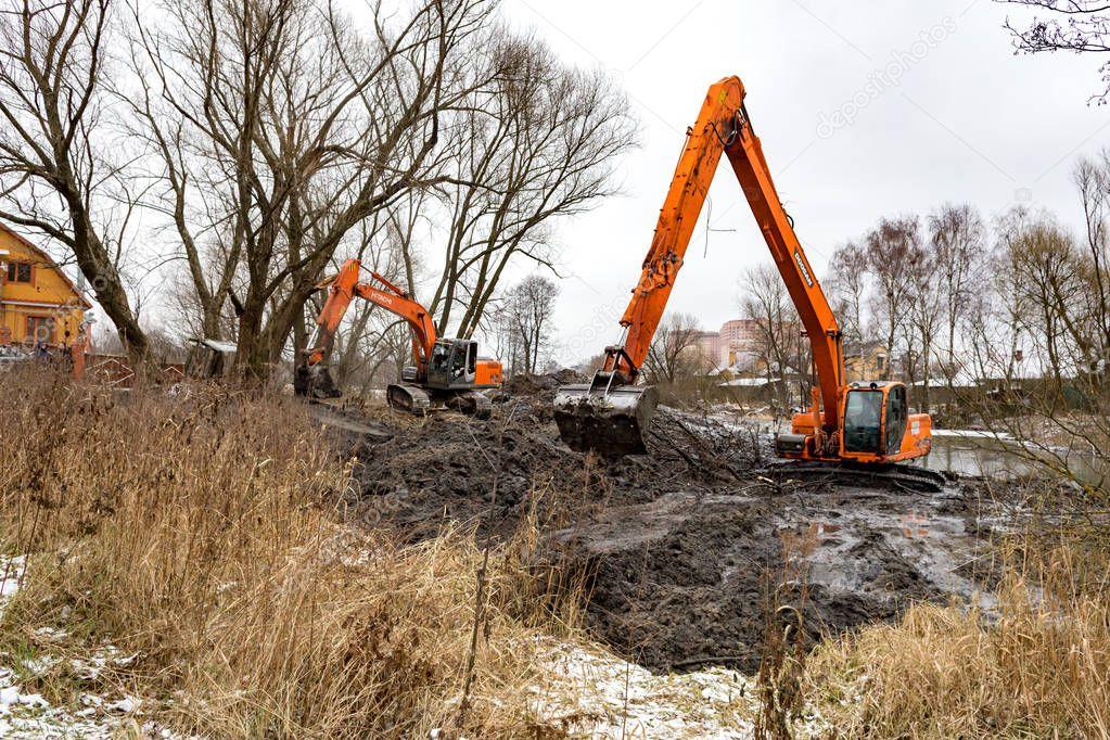 Cleaning the Malashka River