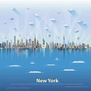 vector illustration of New York