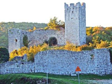 Ruins of Dvigrad or Castle Dvigrad, Kanfanar - Istria, Croatia (Rusevine srednjovjekovnog grada Dvigrada ili srednjovjekovni grad Dvigrad - Moncastell i Castel Parentino, Istra, Hrvatska)