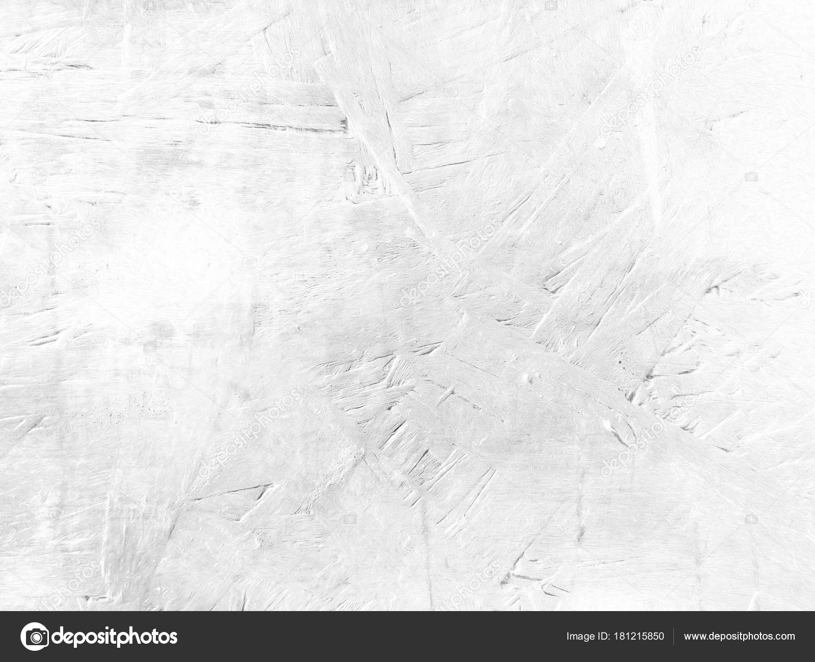 Grey white background texture in soft light concrete paint Stock