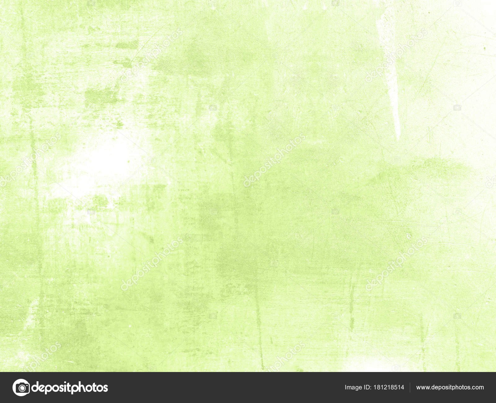 Pale green background