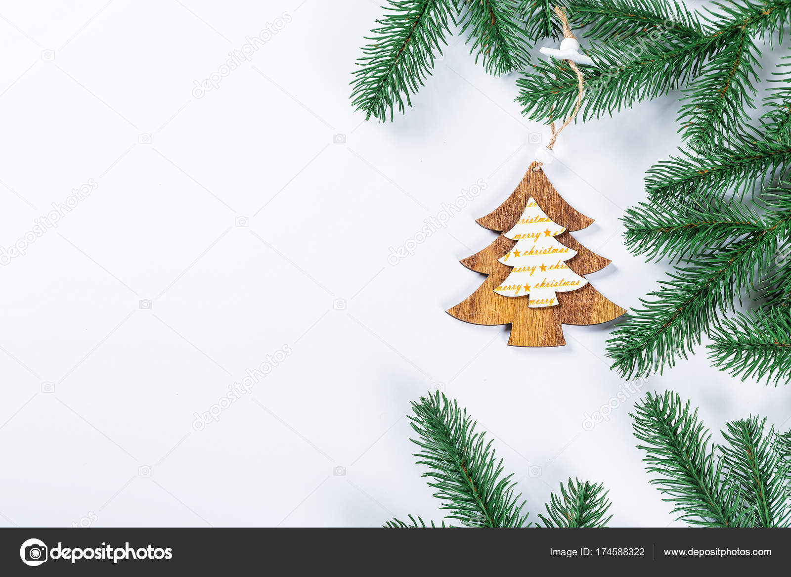 Holiday Christmas Background.Christmas Background Simple Christmas Holiday Composition