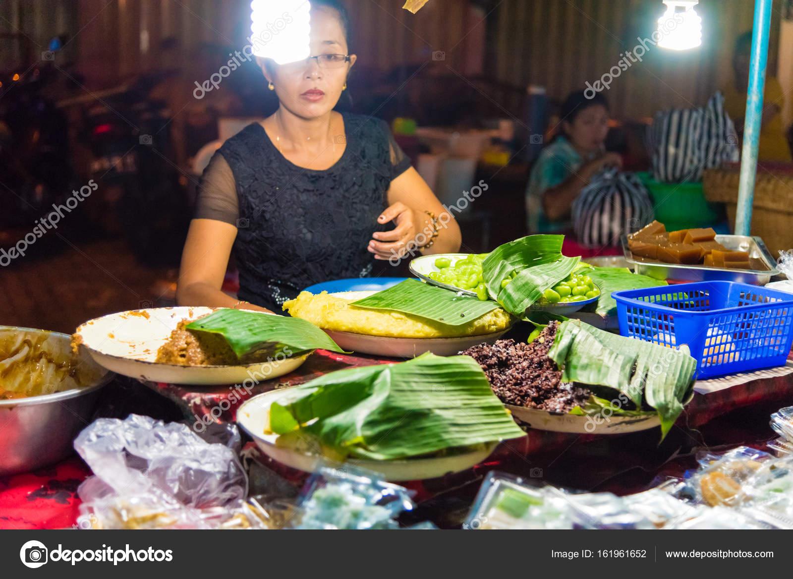 Gianyar Night Market In Gianyar Province Bali Indonesia