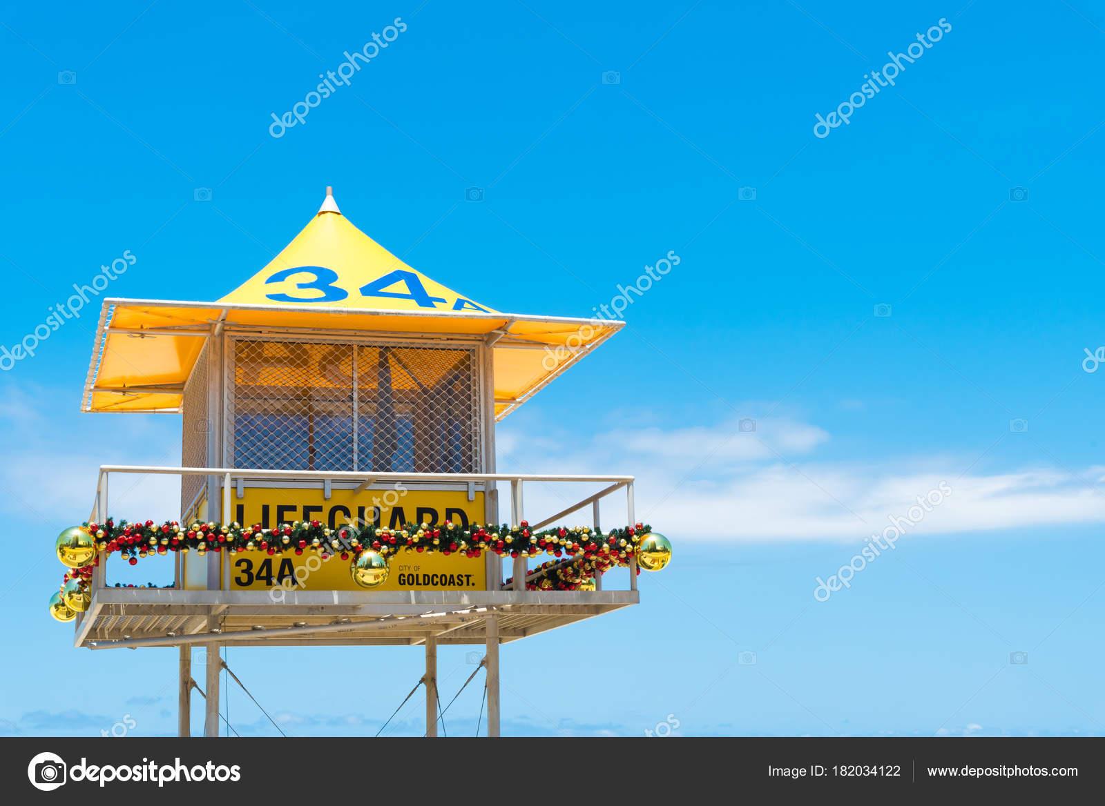 71cc5334ef7 Australian lifeguard tower at Surfers Paradise