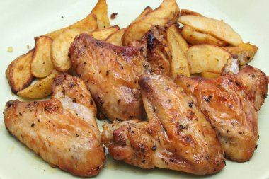 Backed Chicken with Potato
