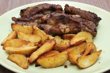 Roasted Pork Ribs with Potato