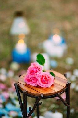 "Картина, постер, плакат, фотообои ""Цветы на свадьбу. Свадьба в Черногории на горе"", артикул 147260551"