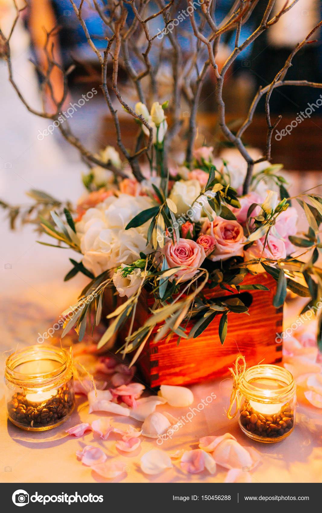 Стол для свадьбы своими руками
