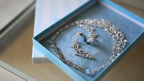 Bride Jewellery. Earrings, necklaces, rings, watches