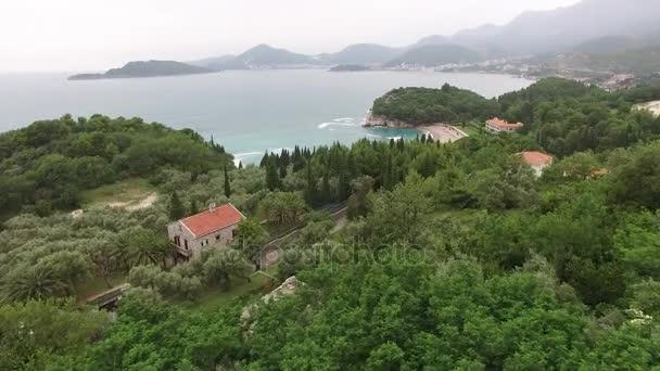 der Park milocer, Villa, Strand Königin. in der Nähe der Insel sveti stefan