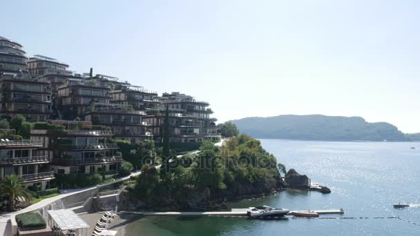 Luxury hotel complex Dukley Gardens in Budva, Montenegro. Large