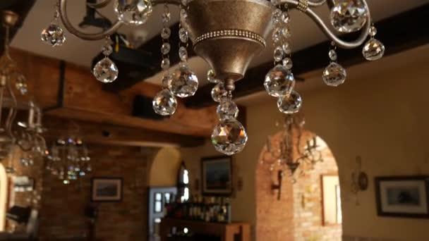 Kronleuchter Klein Kristall ~ Kristall kronleuchter restaurant die innenarchitektur der restau