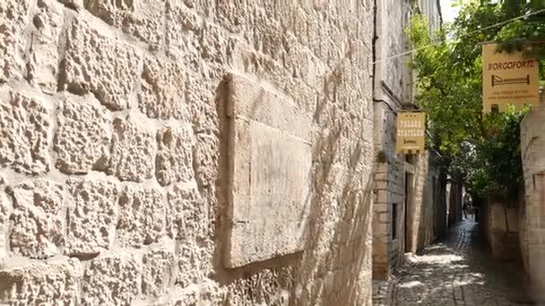 Staré město Trogir. Poblíž Split, Chorvatsko.