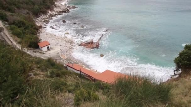 The beach Crvena Glavica in Montenegro