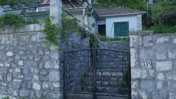 Wrought iron gates. Handmade. Exterior design elements